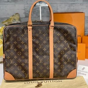 ✅Auth✅LOUIS VUITTON Soft Briefcase Macbook Pro 15